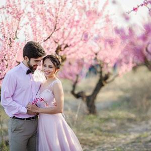春の結婚式