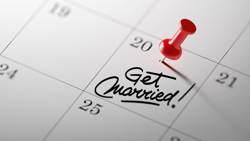 結婚式はいつ挙げる?日取りについて!
