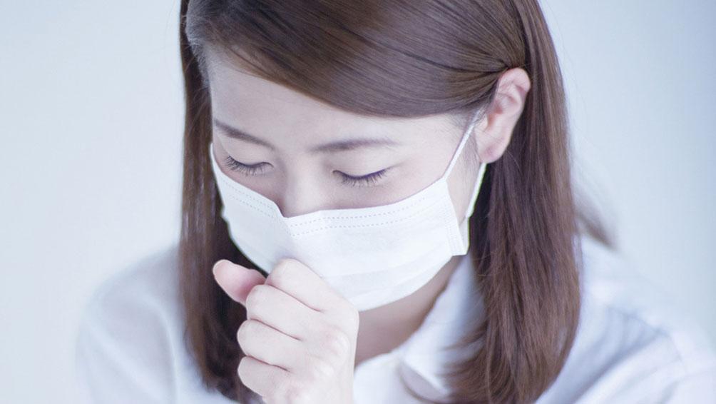 飛沫感染を防ぐための咳エチケットを