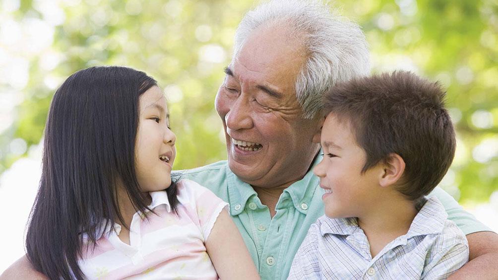 孫を中心に場所を決めるのも一つの方法