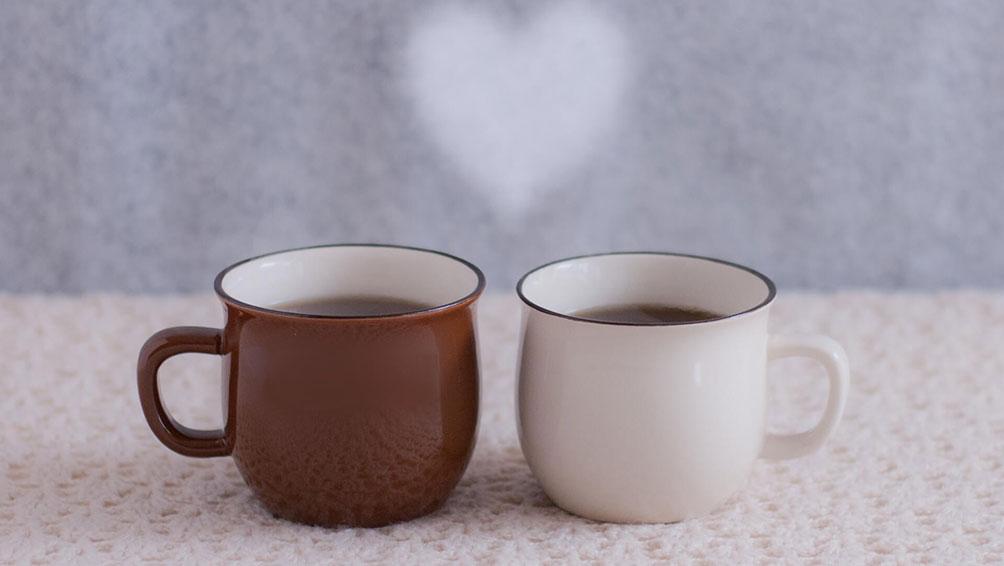 2種類のコーヒーを飲んでみて・・・