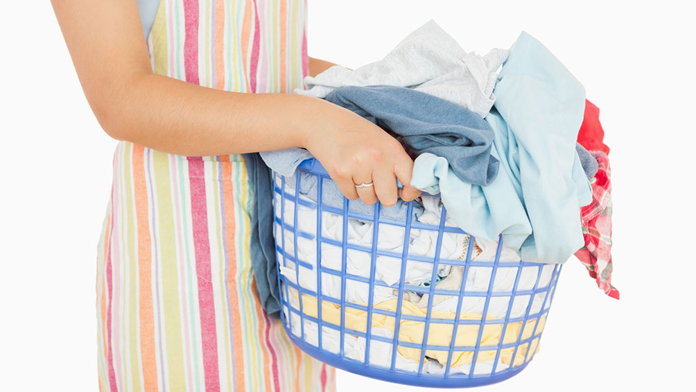 その1:洗濯物の量を7割にとどめる