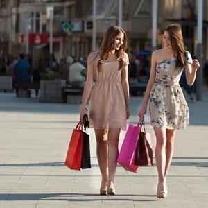 ショッピングをする