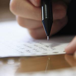 イライラすることを紙に書き出す