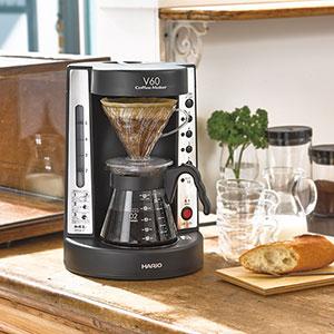 ドリップ式だからこそできる安定した美味しさ「V60 珈琲王コーヒーメーカー」