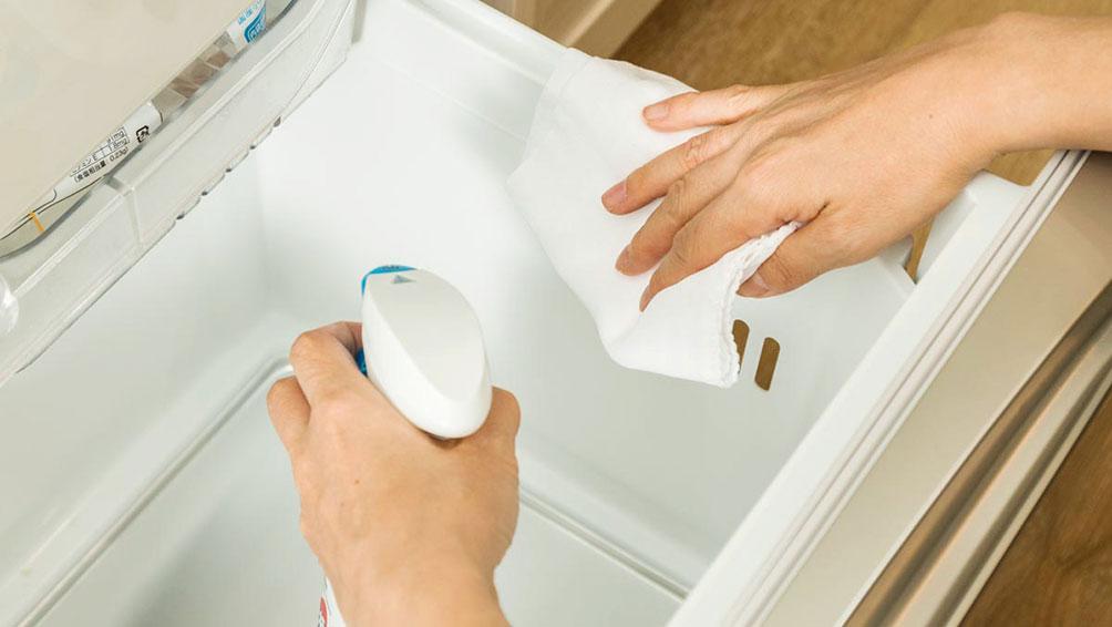 冷蔵庫の正しい掃除方法を伝授!