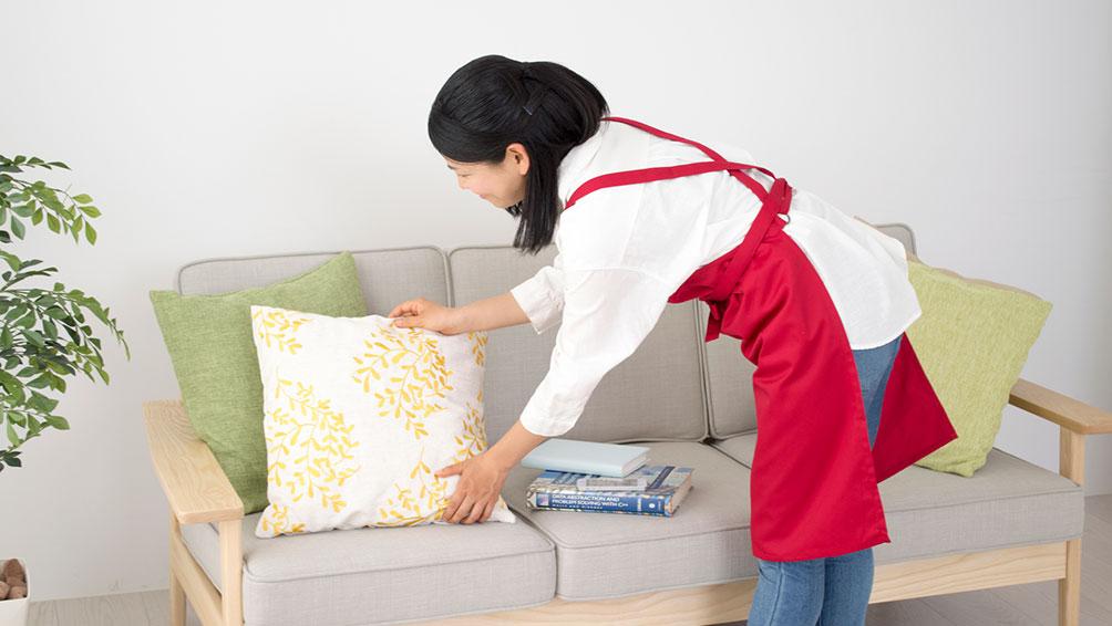 お客様の目に付くところはもれなく掃除、清潔感を出そう!