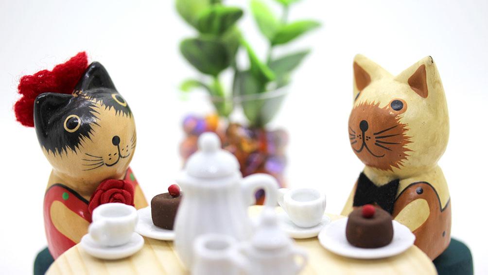 美味しいお茶菓子で相手との会話もはずむ!