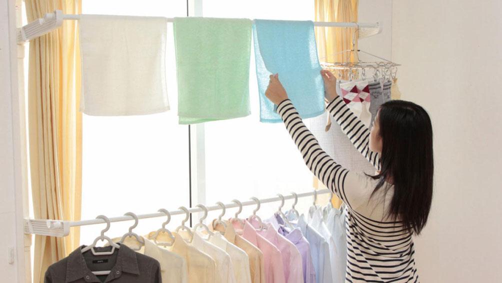 裏技その3:洗濯物を部屋干ししよう!