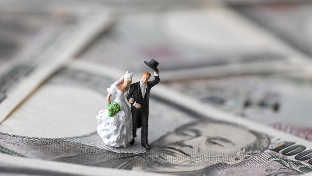 まずは結婚にかかる費用をチェック!