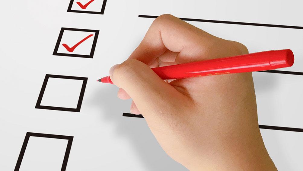 秘訣その1:家事分担表を作って現状確認と再分担の決定をする