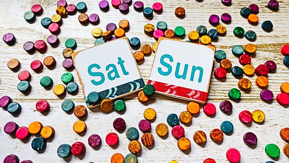 秘訣その3:平日がどうにもならないならば週末に調整を!