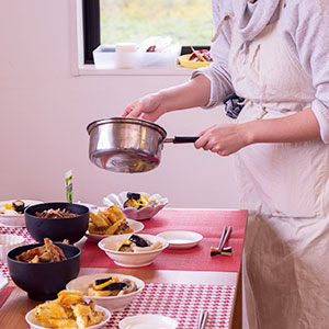 料理や洗濯、掃除などの基本的な家事